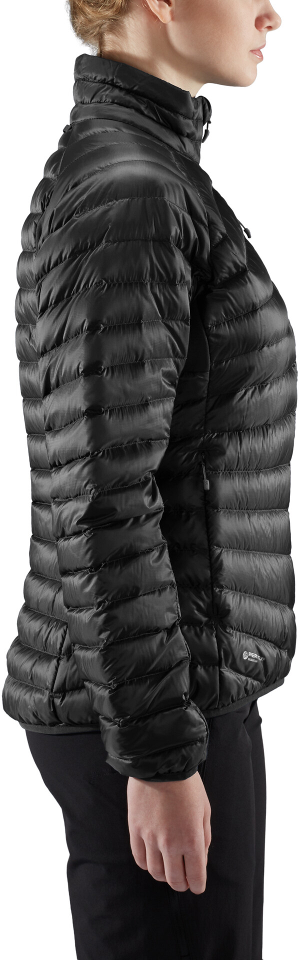 Haglöfs Essens Down Jacket Women true blackmagnetite